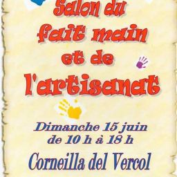 Salon du fait-main et de l'Artisanat à Corneilla del Vercol